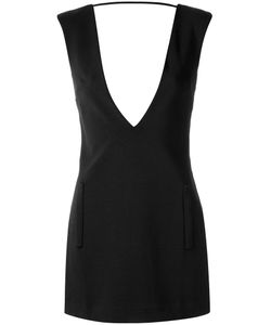 Adriana Degreas | Deep V Neck Dress Medium Polyamide/Viscose/Spandex/Elastane