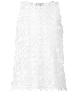 Carven | Embroidered Lace Tank 40 Polyester