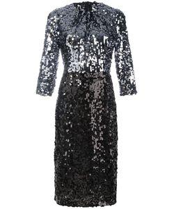 Dolce & Gabbana   Sequinned Dress 40 Polyester/Polyamide/Spandex/Elastane/Cotton