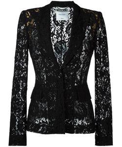 Moschino | Lace Blazer 44 Polyamide/Rayon