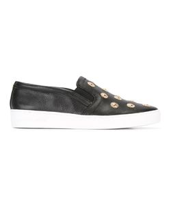 Michael Michael Kors | Leo Embellished Slip-On Sneakers 6