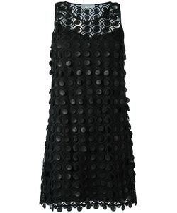 Carven | Embroidered Lace Dress 38 Silk/Acetate/Polyester