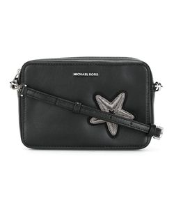 Michael Michael Kors | Medium Star Patch Crossbody Bag Leather/Metal