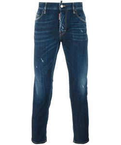 Dsquared2 | Skater Stonewashed Jeans 50 Cotton/Spandex/Elastane/Polyester/Calf Leather