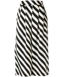 Adriana Degreas | Striped Culottes Pp Silk