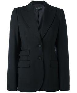 Dolce & Gabbana | Classic Blazer 46 Virgin Wool/Polyamide/Spandex/Elastane/Silk