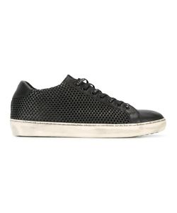 Leather Crown | Perforated Sneakers 43 Leather/Rubber