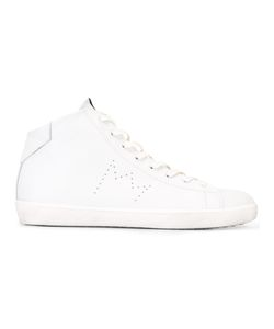 Leather Crown | Hi-Top Sneakers 41 Leather/Rubber