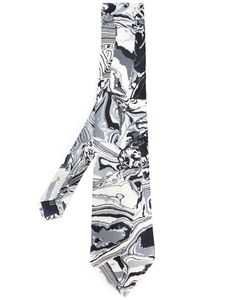 YOHJI YAMAMOTO VINTAGE | Marble Print Tie