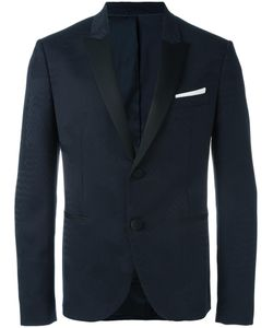 Neil Barrett | Tonal Pattern Blazer 52 Virgin Wool/Spandex/Elastane/Polyester