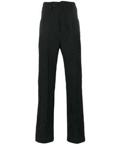 Ann Demeulemeester | Tailored Trousers Xl Linen/Flax/Nylon/Virgin Wool/Cotton