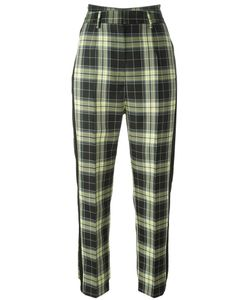 MM6 by Maison Margiela | Mm6 Maison Margiela Checked Tailored Trousers 40 Polyester