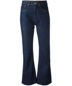 MM6 by Maison Margiela | Mm6 Maison Margiela Flared Cropped Jeans 40 Cotton