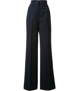 Gabriela Hearst | High-Rise Flared Trousers 40 Virgin Wool/Spandex/Elastane