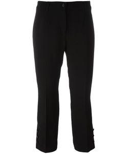 Dolce & Gabbana | Cropped Trousers 42 Spandex/Elastane/Virgin Wool