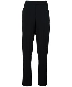 Giorgio Armani | High-Waisted Trousers 48 Virgin Wool/Acetate/Cupro