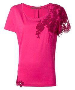Ermanno Scervino | Lace Detailing Blouse 48 Cotton