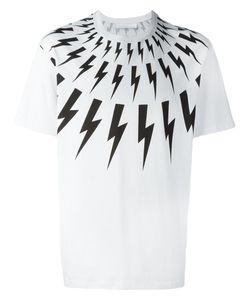 Neil Barrett | Lightning Bolt T-Shirt Medium Cotton