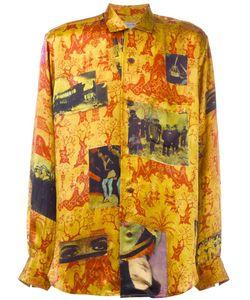 YOHJI YAMAMOTO VINTAGE | Printed Silk Shirt 3