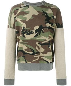 Sophnet. | Inside-Out Camo Sweatshirt Small Cotton
