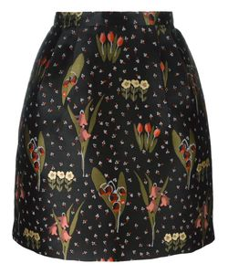 Red Valentino | Pattern A-Line Skirt 38 Polyester