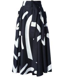 Max Mara | Ali Fantasy Print Skirt 40 Polyester