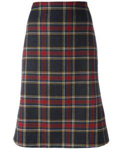 MOSCHINO VINTAGE   Tartan Skirt 36.5