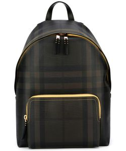 Burberry | Checked Backpack Pvc/Leather/Polyester