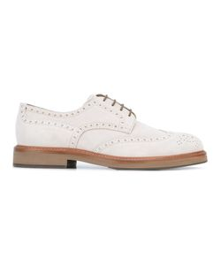 Brunello Cucinelli   Brogue Shoes 41 Calf Leather/Leather/Rubber