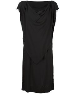 Vivienne Westwood Anglomania | Frayed Shift Dress 42 Viscose