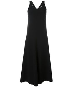 Joseph | Long Racer-Back Dress 38 Viscose/Spandex/Elastane/Cotton
