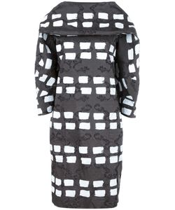 Vivienne Westwood Anglomania | Geometric Patten Shift Dress 38