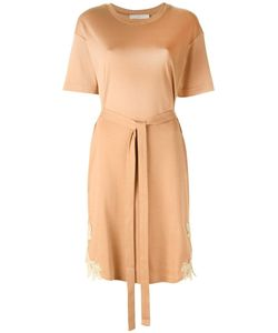See By Chloe | See By Chloé Belted T-Shirt Dress Small Cotton