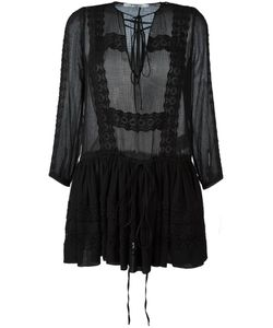 Givenchy | Broderie Anglaise Dress 34 Silk/Cotton