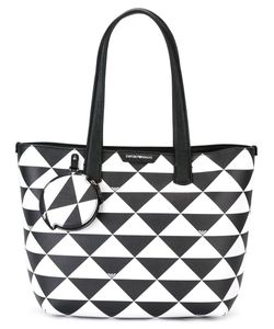 Emporio Armani | Triangles Tote Bag Leather