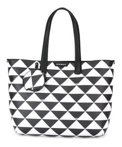 Emporio Armani | Triangles Tote Leather