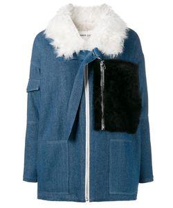 Sandy Liang | Citroen Jacket 40 Cotton/Polyester/Lamb Fur