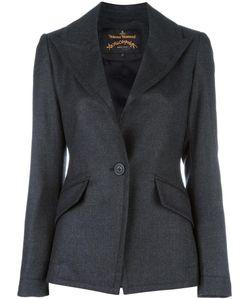 Vivienne Westwood Anglomania | Peaked Lapel Blazer 42 Viscose/Virgin