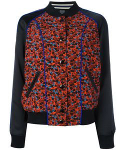 COACH | Print Bomber Jacket 6 Viscose/Polyester