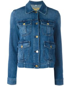 Michael Kors | Multiple Pockets Denim Jacket Xl Cotton/Spandex/Elastane