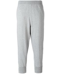 Vince | Cropped Joggers Large Cotton/Nylon/Spandex/Elastane