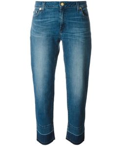 Michael Michael Kors | Released-Hem Straight-Leg Jeans 0 Cotton/Spandex/Elastane