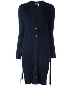 See By Chloe | See By Chloé Side Tie Cardigan Medium Wool