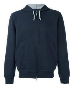 Brunello Cucinelli | Zipped Hoodie Small Polyamide/Cotton