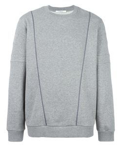 Givenchy   Piped Trim Detail Sweatshirt Medium Cotton/Polyester