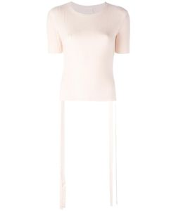 See By Chloe | See By Chloé Ribbed Side Tie Top Xs
