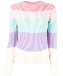 Chinti And Parker | Striped Jumper Medium Cashmere/Wool