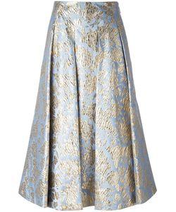 MSGM | Print Skirt 44 Polyester/Polyamide Fibre