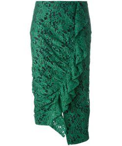 Erika Cavallini | Garnet Skirt 44 Cotton/Polyamide/Acetate/Polyester