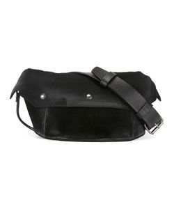 Maison Margiela | Distressed Effect Fanny Pack Cotton/Calf Leather